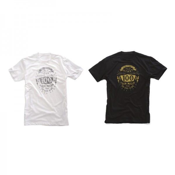 Fullface T-Shirt black/white