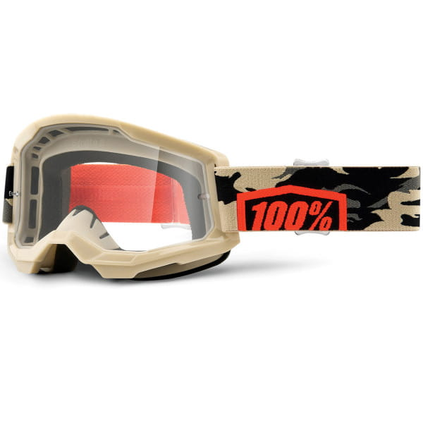 Strata Gen.2 anti fog Brille Clear - Gold/Camo