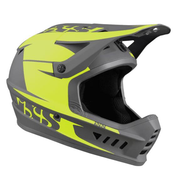 XACT Evo Fahrradhelm - Gelb/Grau