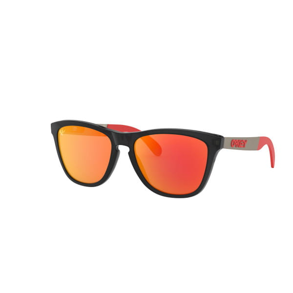 Frogskins Mix MotoGP Sonnenbrille Matt Schwarz Ink - Prizm Ruby