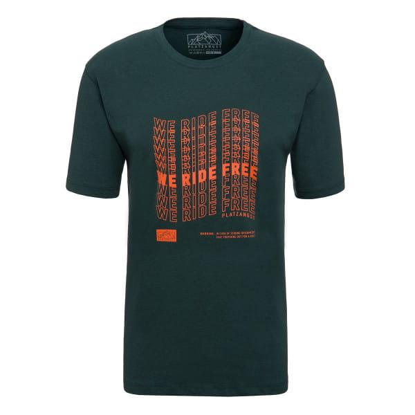 We Ride Free T-Shirt - Grün