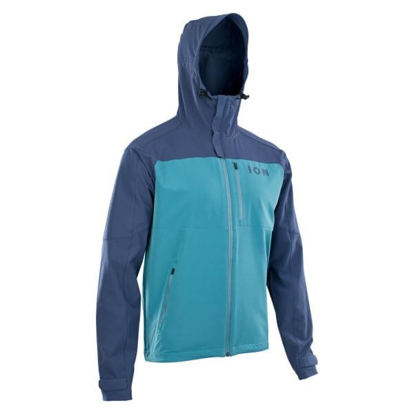 Indigo Softshell Jacke Shelter - Blau