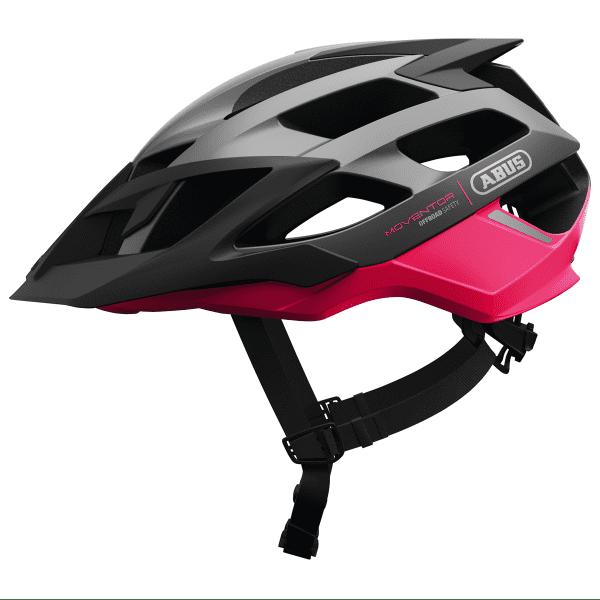 Moventor Fahrradhelm - Schwarz/Pink
