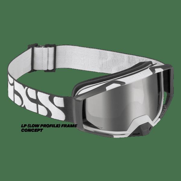 Trigger Goggle Mirror - Weiß / Mirror Silver LP (Low Profile)