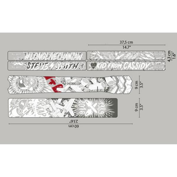 Rahmenschutz Kit - Chainsaw White Matte