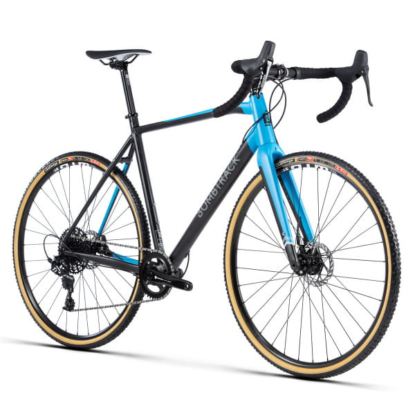 TENSION 1 Komplettrad - Schwarz / Hellblau - 2020