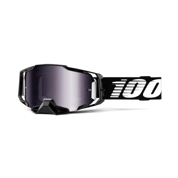 Armega Goggles Anti Fog - Schwarz - verspiegelt