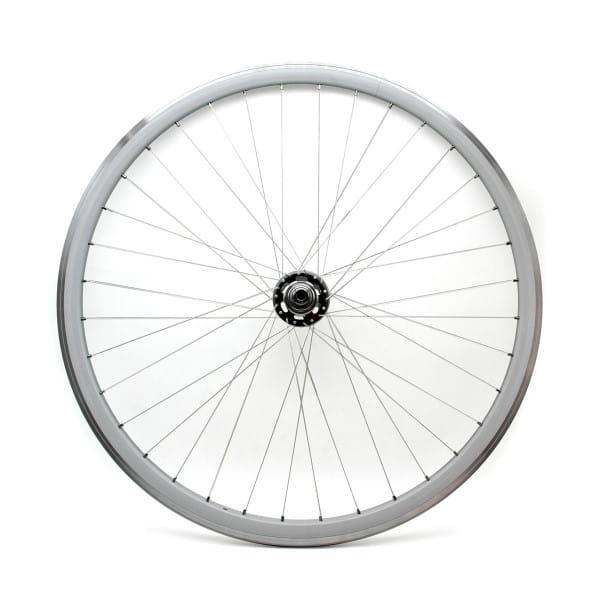 Singlespeed Fixie Laufradsatz 28 Zoll - Weiß/Schwarz