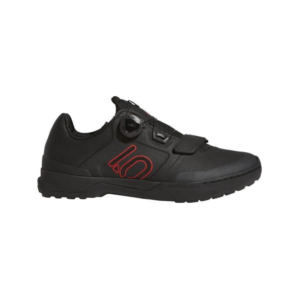 Kestrel Pro BOA MTB-Schuhe - Schwarz/Rot