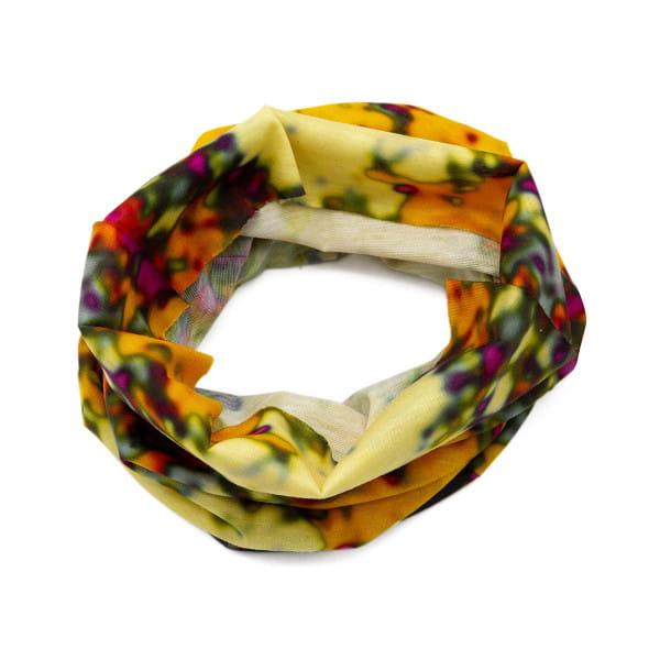 Gravel Tube II - multifunctioneel doek - geel