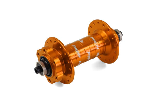 Pro 4 Fatsno - Vorderradnabe - Orange - 135 x 9 mm Schnellspanner