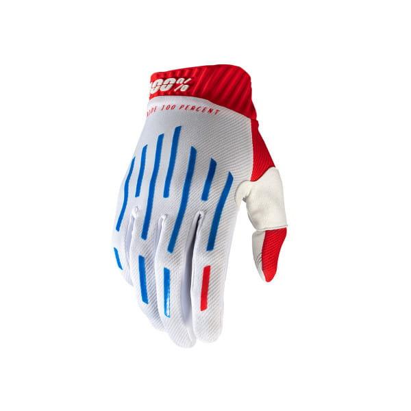 Ridefit Handschuh - Rot/Weiß/Blau
