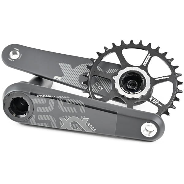 XCX Race Carbon Mountain Kurbel - 73 mm - Schwarz
