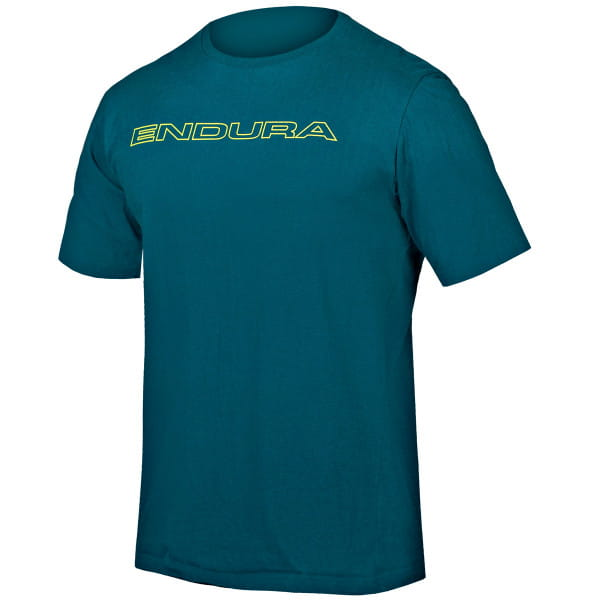 One Clan Carbon T-Shirt - Kingfisher