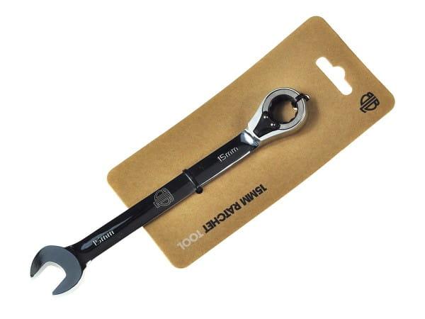 15mm Ring-/Maulschlüssel mit Ratsche