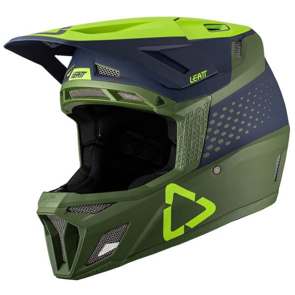 DBX 8.0 - Fullface Composite Helm - Grün