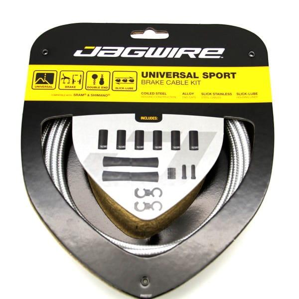 Bremszugset Universal Sport - Silber
