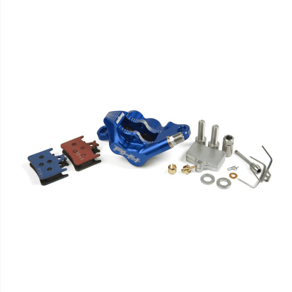 RX4 Bremssattel Postmount Complete - Sram - Blau