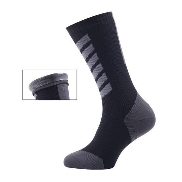 MTBMid mit Hydrostop- Socken Schwarz