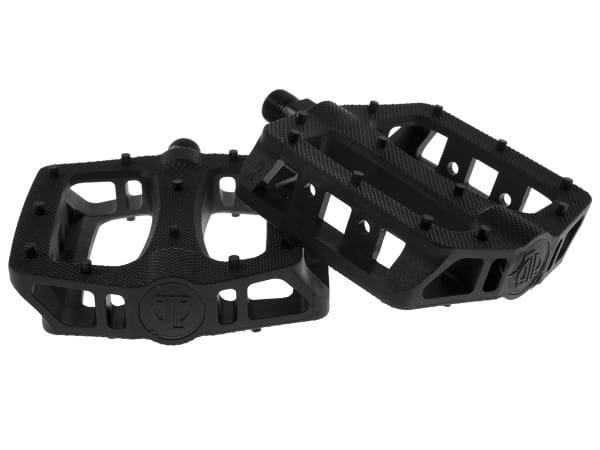 T-Rex Plattform Kunststoff Pedale - schwarz