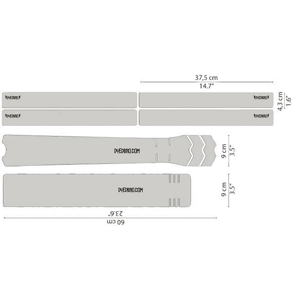 Rahmenschutz Kit - Clear Glitter