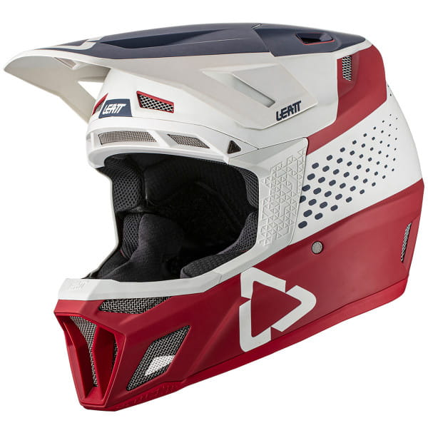 DBX 8.0 - Fullface Composite Helm - Rot