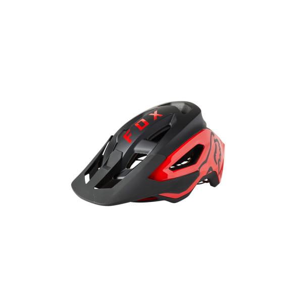 Speedframe Pro - MIPS MTB Helm - Schwarz/Rot