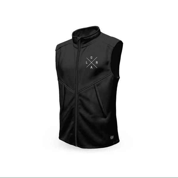 Technical vest - black