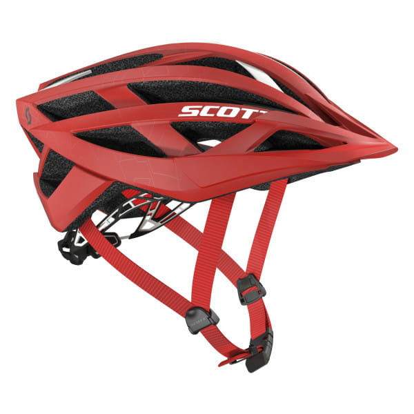 Wit Fahrradhelm - red