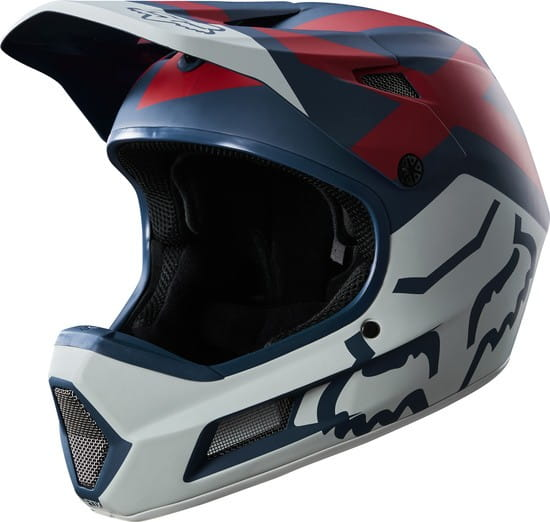 Rampage Comp Helm - Blue/Red