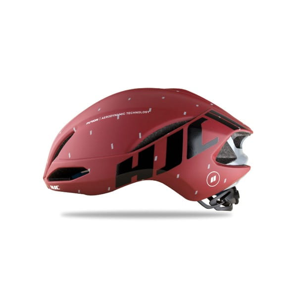 Furion Road Helm - Matt pattern Red