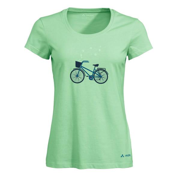 Women Cyclist - T-Shirt hellgrün