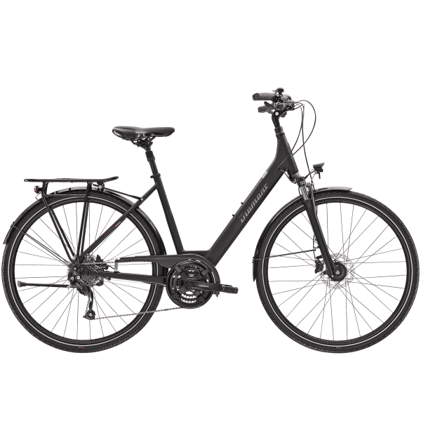 Ubari Deluxe - Frauen Trekkingrad - Schwarz