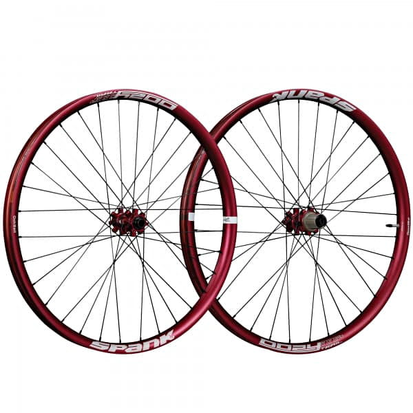 Oozy Trail 395+ Laufradsatz 29 Zoll - Rot