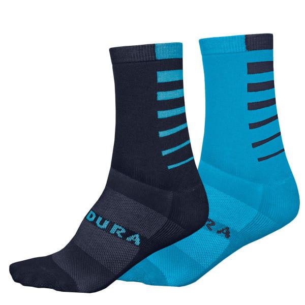 Coolmax Stripe Socken - Blau