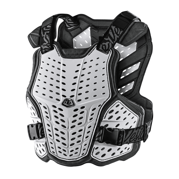 Rockfight Body Protektor - Weiß
