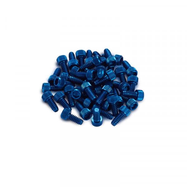 Ersatz Pins für Black ONE Pedal 10 Stück - blau