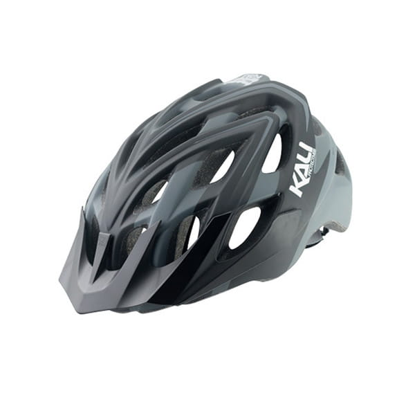 Chakra Plus Sonic Fahrradhelm - Schwarz/Grau