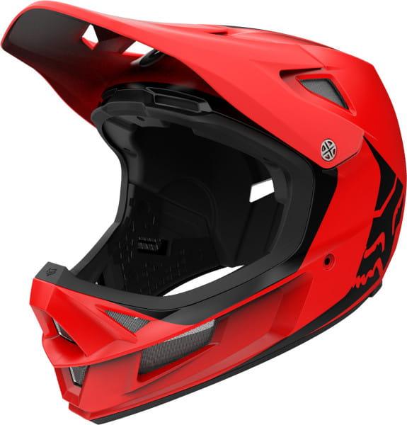 Rampage Comp Infinite Helm - Rot