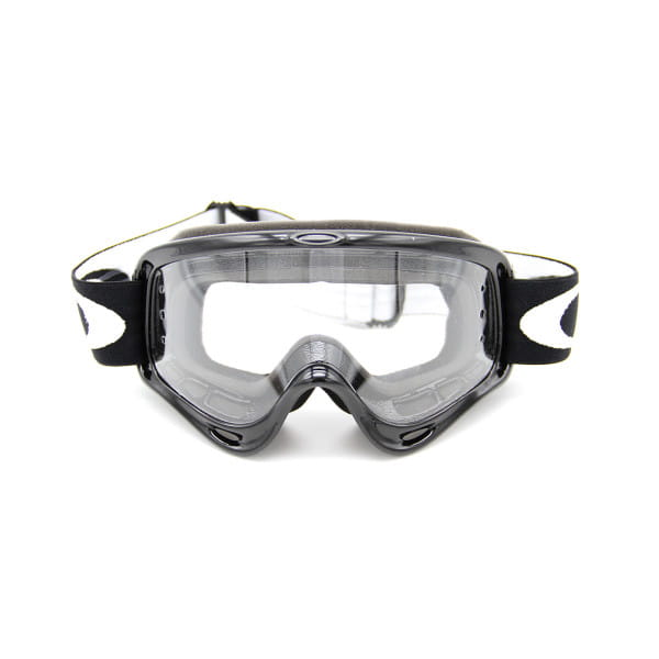 O-Frame MX Goggles- Race Ready Jet Black incl. Clear Roll Off