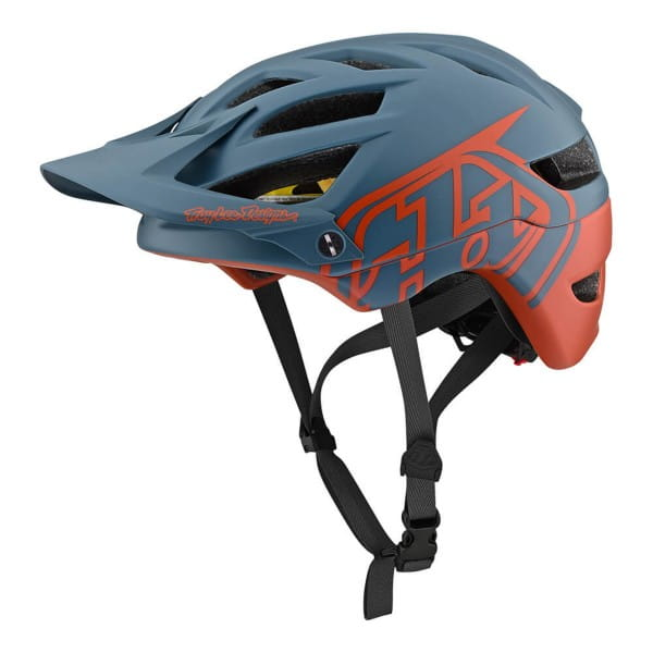 A1 Classic Mips Helm - Blau/Braun