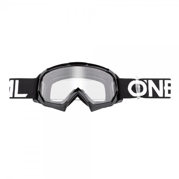 B10 Solid Goggle - Youth - black/white - Lens clear