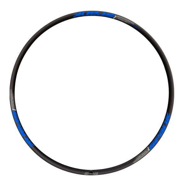 359 Vibrocore Felge - 32 Loch - 27,5 Zoll - Schwarz/Blau