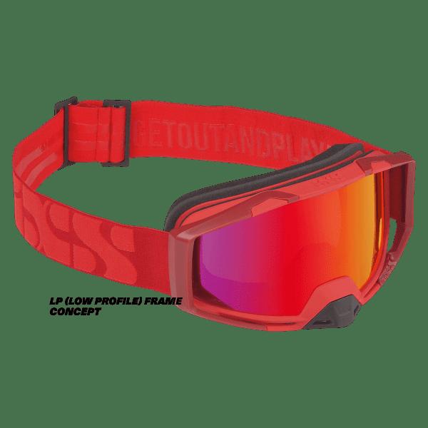 Trigger Goggle Mirror - Racing Red / Mirror Crimson LP (Low Profile)
