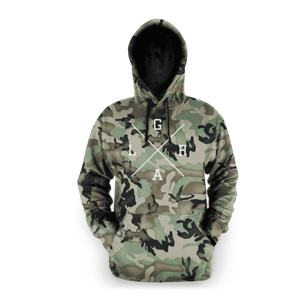 Hoodie Pullover - Forest Camo