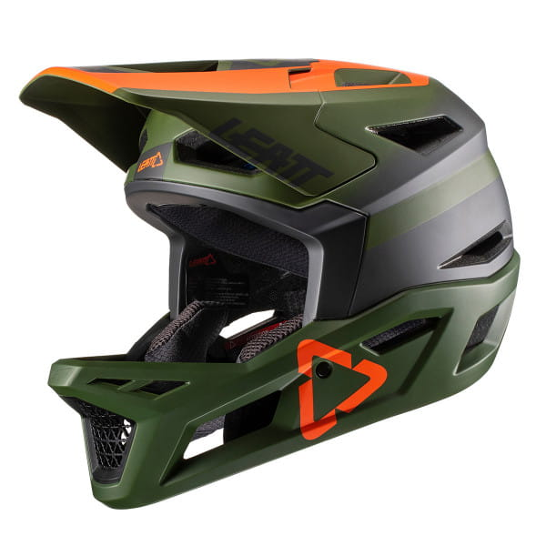 DBX 4.0 Super Ventilated Full Face Helm - Grün