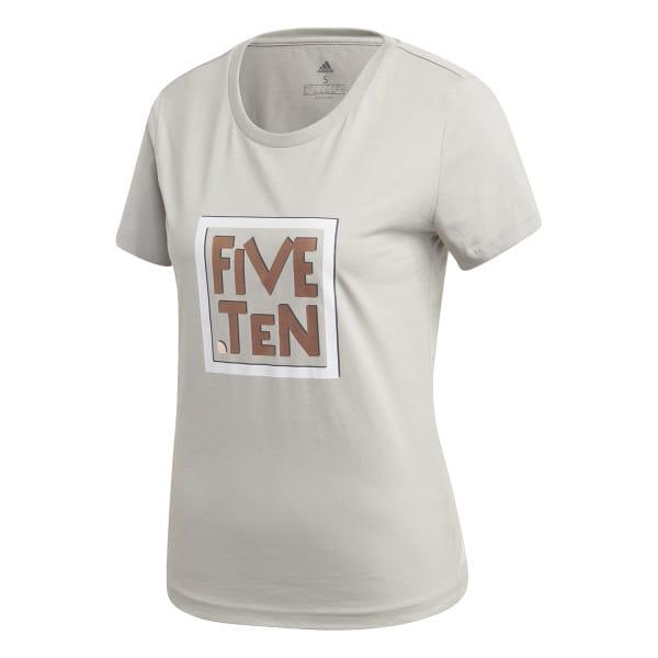 GFX T-Shirt - Damen - Beige/Braun