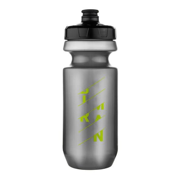 Wasserflasche 550 ml - Großvolumiges Mundstück - Silber