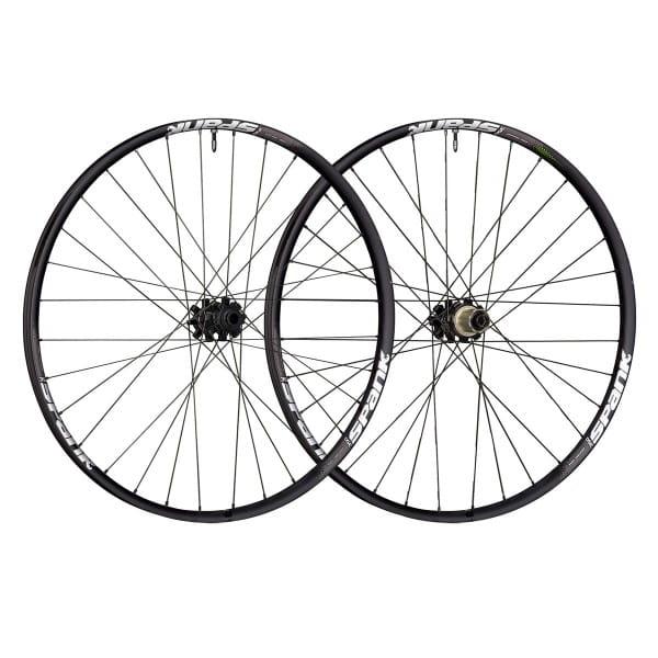 350 Tuned Vibrocore 27,5 Zoll Laufradsatz - Schwarz