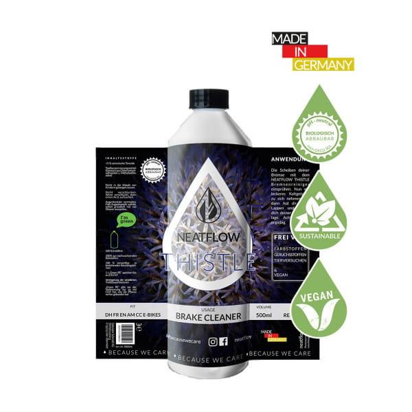 Umweltfreundlicher Bremsen-Reiniger Thistle - Nachfüllflasche